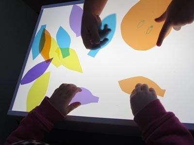 Exploring the light table in preschool | Jardim de Infância | Scoop.it