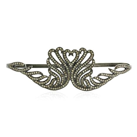Diamond Heart Palm Bracelet | Diamond Jewelry | GemcoDesigns | Pave Diamond Bracelets | Diamond Jewelry | GemcoDesigns | Scoop.it