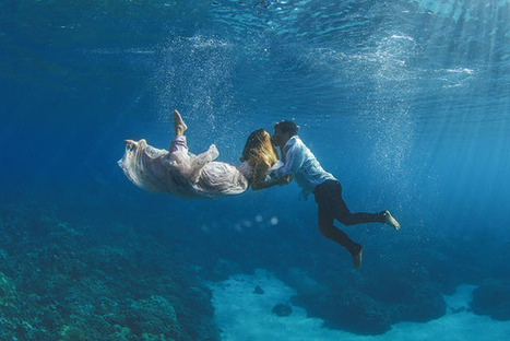 The Underwater Wedding Portraits | SA Scuba Shack | Scoop.it
