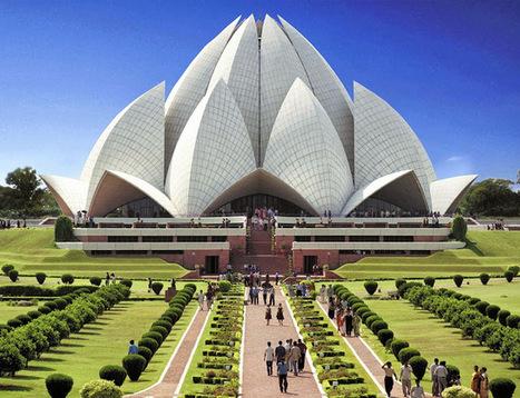 Erco Travels: Lotus Temple-A Graceful Marvel of India | tipus de làmpares | Scoop.it