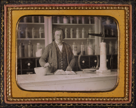 Unidentified photographer (active ca. 1850) Apothecary, interior... | Photography Now | Scoop.it