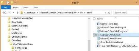 Microsoft publishes CRM SDK in NuGet (Visual Studio) | Microsoft Dynamics CRM 2013 | Scoop.it