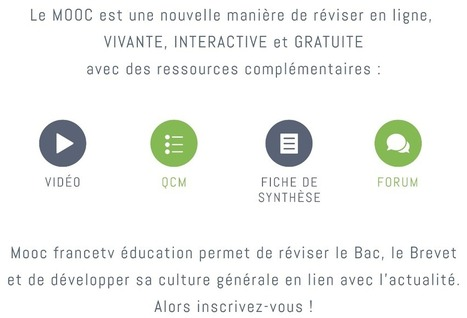 "Nouvelle plateforme : ""Mooc FranceTv Education"" 