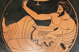 How to Recreate a Sloppy Ancient Greek Drinking Game | Visit Ancient Greece | Scoop.it