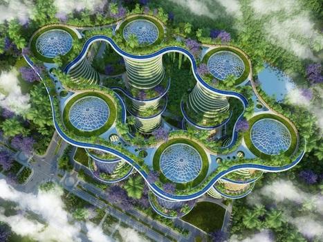 Hyperions : l'éco-quartier le plus ambitieux au monde | Techniques de l'ingénieur | Startup et innovation | Scoop.it