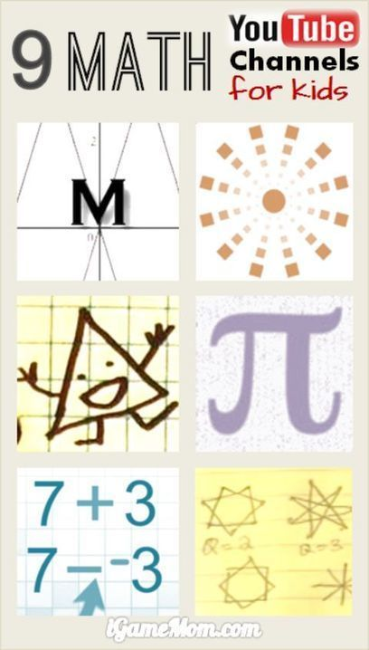 9 Fun Math YouTube Channels for Kids | Math Fun | Scoop.it