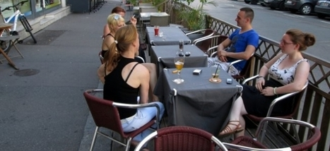 Bars, restos à Rouen (76) terrasses contre places de parking ...!!! | Les news en normandie avec Cotentin-webradio | Scoop.it