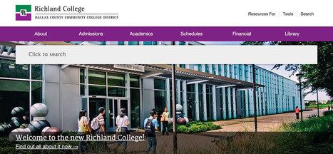Designing a Responsive Website for Higher Education / Randy Jensen Online | angular | Scoop.it