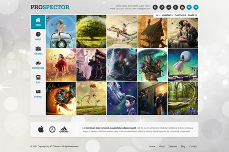 Prospector Responsive Portfolio Wordpress Theme | eCommerce Website Templates | Scoop.it