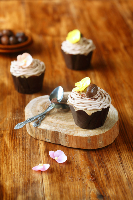 "Cupcakes ""Mont Blanc"" 