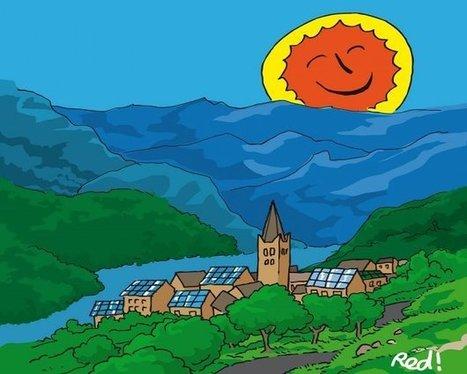 Le village où les habitants gèrent eux-mêmes l'énergie du soleil | CaféAnimé | Scoop.it