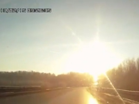 A Huge Meteor Exploded Over Russia On Friday Morning | Littlebytesnews Current Events | Scoop.it