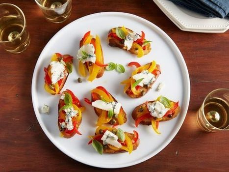 Beyond Tomatoes and Basil: The Best 5 Ways to Serve Bruschetta | FN Dish – Food Network Blog | ♨ Family & Food ♨ | Scoop.it