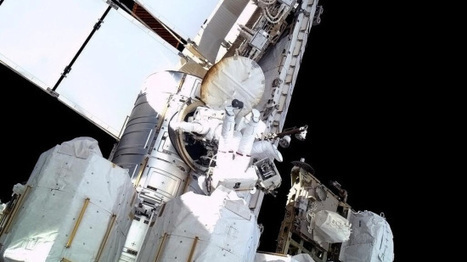 Amazing Photos of ISS Astronauts Fixing the Ammonia Leak - Rival Animus | Photographers and Photographs | Scoop.it