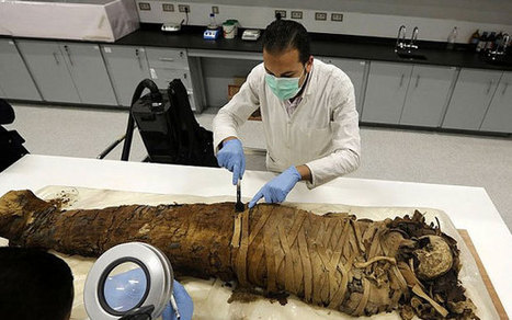 Secrets of the 1,300-year old tattooed mummy - Telegraph | Egyptology and Archaeology | Scoop.it