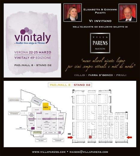 VILLA PARENS AL VINITALY 2015. A VERONA DAL 22 AL 25 MARZO. | SPEAKING OF WINE | Scoop.it