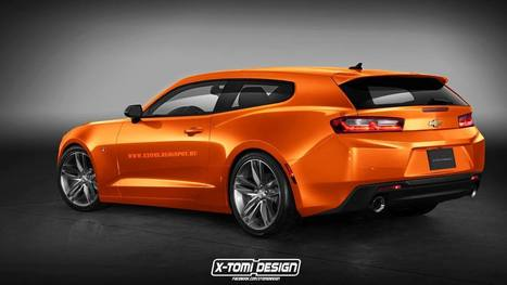 Carscoops: What About A 2016 Camaro RS Shooting Brake Or Four-Door Coupe? | Consumer Automotive News | Scoop.it