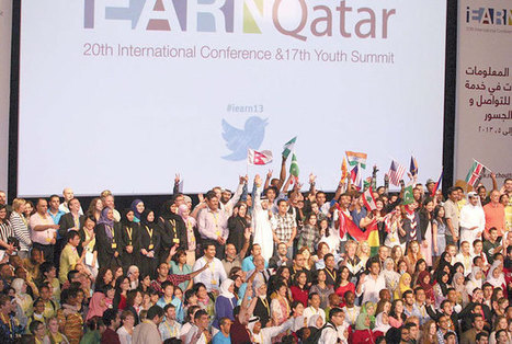 """Mannai asks iEARN participants to be """"responsible and proactive"""" - Qatar Tribune - First with the news and whats behind it 