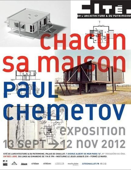 "Paul Chemetov  ""Chacun sa maison"" (LeMonde) 