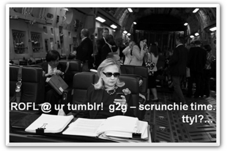 Texts from Hillary: 3 lessons for social media managers | Articles | Pinterest | Scoop.it
