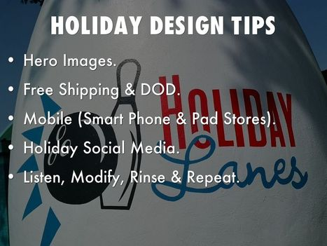 Holidays Are Hot: 5 Holiday Website Design Tips via @HaikuDeck | Curation Revolution | Scoop.it