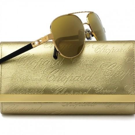 Des lunettes Chopard en or 23 carats pour le Festival de Cannes 2014 | Les Gentils PariZiens : style & art de vivre | Scoop.it