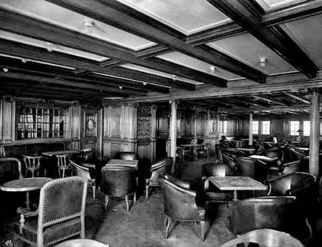 Interiors of the Titanic, 1912 | GenealoNet | Scoop.it