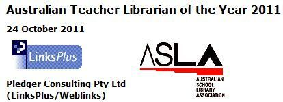 State finalists 2011: ASLA/Pledger Consulting Teacher Librarian of the Year | SCIS | Scoop.it