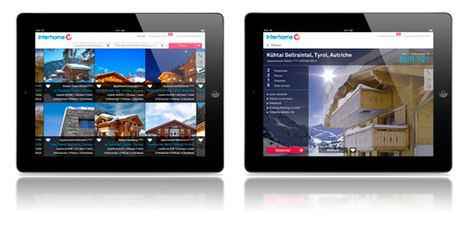 Nouveau: L'appli iPad Interhome est là | location-vacances | Scoop.it