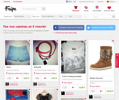 Fri.pe, la plateforme sociale du vide-dressing en ligne - Marketing On The Beach   Social and Mobile experience   Scoop.it
