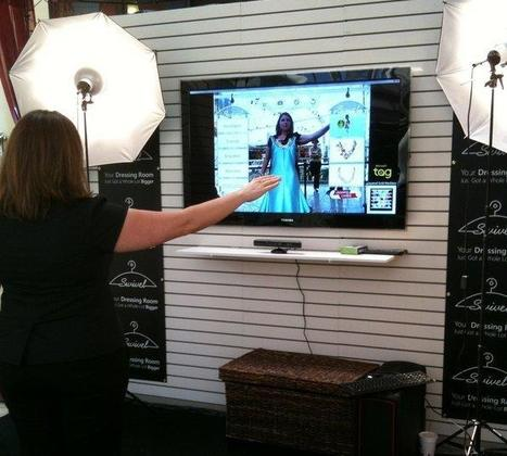 Kinect used in virtual dressing room | Realidad aumentada | Scoop.it