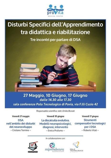 Venerdì a Pavia parleremo di... | Dislessia e Tecnologia | Scoop.it