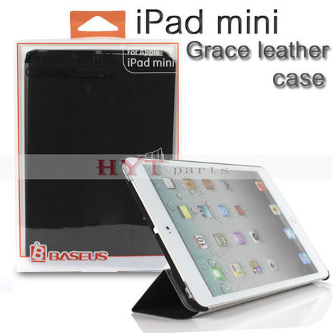 Intellectual Dormancy Function Leather Case for iPad Mini | How to save more money and time | Scoop.it
