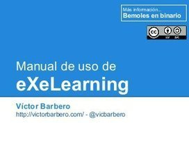 Manual de uso de eXeLearning | Entornos virtuales de aprendizaje | Scoop.it