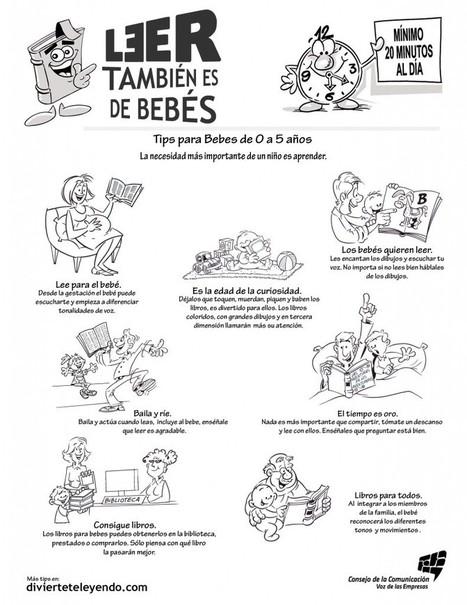 Tips de lectura para Bebés de 0 a 5 años | Llectura con bebés | Scoop.it