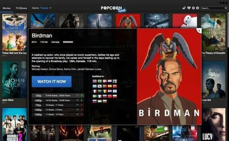 Popcorn Time delivers free video content on a pretty interface without making you feel shady | Digital Transformation of Businesses | Scoop.it