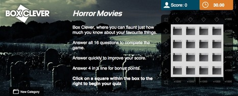 Horror Movies Quiz | Box Clever | QuizFortune | Quiz Related Biz - Social Quizzing and Gaming | Scoop.it