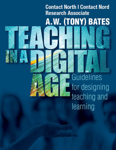 "Tony Bates e-book ""Teaching in a Digital Age"" (2015) 