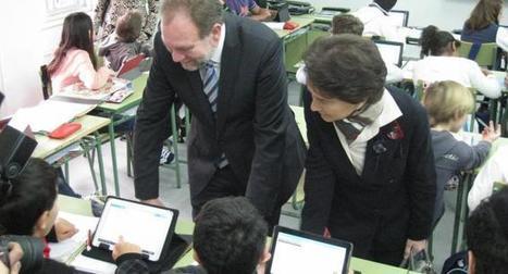 Presentan un innovador proyecto de enseñanza digital en un instituto de secundaria de Murcia | Las Tabletas en Educación | Scoop.it