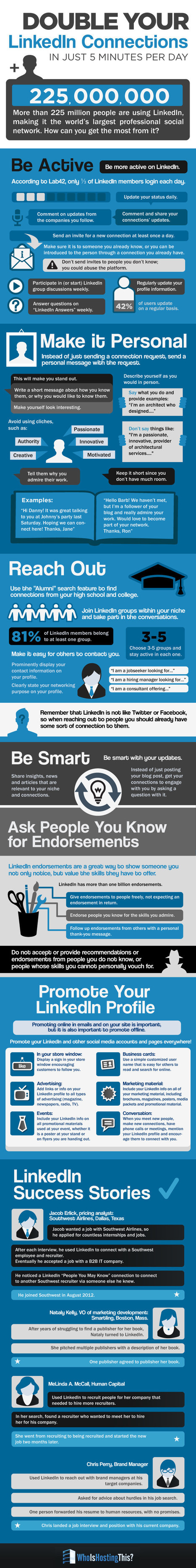40+ Tips To Grow your Linkedin Connections - infographic - Who Is Hosting This | #TheMarketingTechAlert | B2C, B2B, C2C, C2B... | Scoop.it