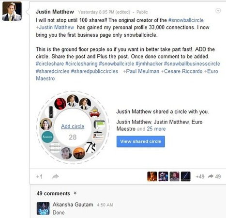 World Of Social Media: Google Plus For Business | Social Media Connect | Scoop.it