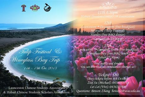 Wineglass Bay and Tulip Farm tour | CFNP South | Scoop.it