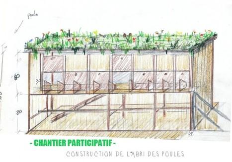 Chantier participatif de la ferme urbaine @La REcyclerie (porte de Clignancourt) - #1 l'abri des poules | Damien CADOUX | Scoop.it