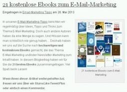 21 kostenlose E-Book-Titel rund ums Thema E-Mail-Marketing ...   Guerilla-Marketing und Guerilla-Sales   Scoop.it