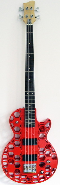 Hive 3D Printed Bass Guitar from ODD guitars | Additive Manufacturing News | Scoop.it