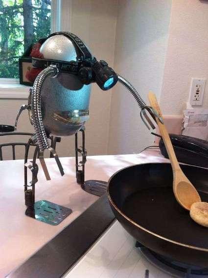 How To Make Tin Robots | Retro Toys | automata and automatons | Scoop.it