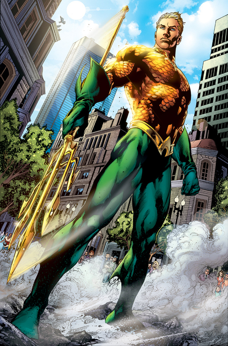 Matt Damon To Play Aquaman In 'Justice League' Movie? | Movie News | Scoop.it