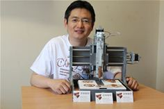 The World's First Commercially Available 3D Chocolate Printing Machine is Being Showed in Bristol | 3d Print | Scoop.it