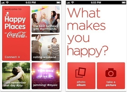 Coca-Cola Launches Its Own Photo-Sharing App, Similar To Instagram - DesignTAXI.com | industrie 2.0 | Scoop.it