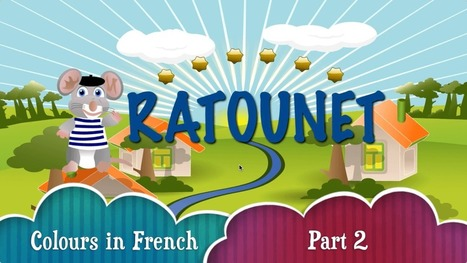 Ratounet teaches the colors in French | Learn French online | Scoop.it